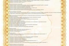 Сертификат соответствия Приложение стр 2